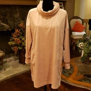 Women's cowl neck Sleepwear